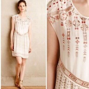 One September Calliope Embroidered Dress